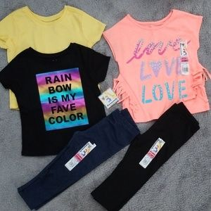 2t New Girls tee Bundle
